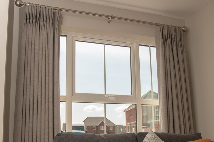 LINED CURTAINS FROM NEAT PLEAT INTERIORS